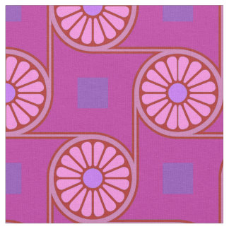 Thebes Purple Fabric
