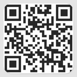 thedrivenchurch.com QR Code Sticker