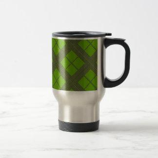 Theme GREEN Shades Diamond Windows Coffee Mugs