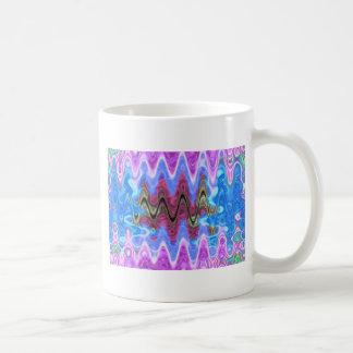 Theme Purple Wave Coffee Mugs