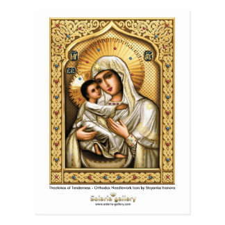 Theotokos of Tenderness - Postcard