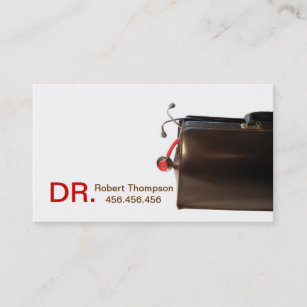 Therapeutist Family Doctor GP Business Card