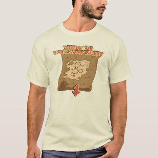 There be Treasure below T-Shirt