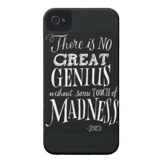 """""""There Is No Great Genius..."""" iPhone 4 Case-Mate Case"""