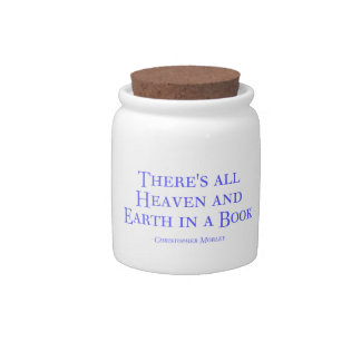 There s All Heaven And Earth In A Book Candy Jar