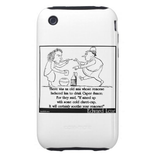 There was an old man whose remorse tough iPhone 3 covers