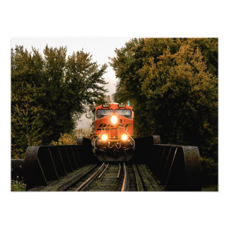 There's A Train Coming Photograph