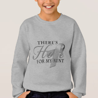 There's Hope for Diabetes Aunt Sweatshirt