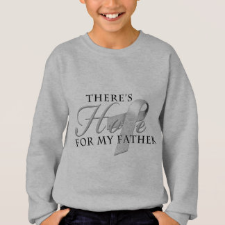 There's Hope for Diabetes Father Sweatshirt