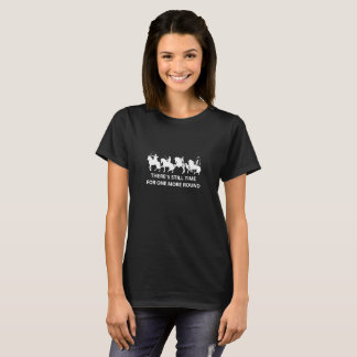 There's Still Time - Womens Dark Tee