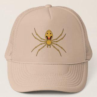 Theridion grallator AKA Happy Face Spider Trucker Hat