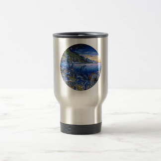 thermo stainless steel travel mug