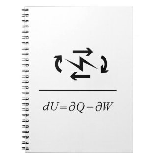 Thermodynamics First Law Notebooks