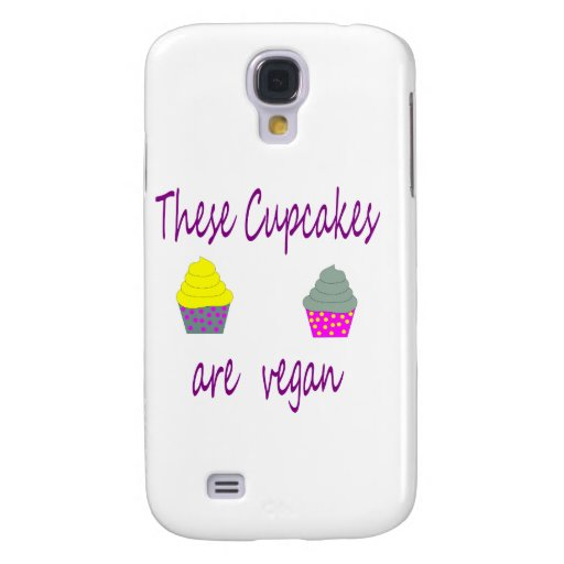 These Cupcakes are Vegan Samsung Galaxy S4 Cover