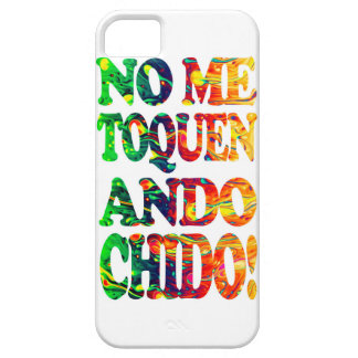 They do not touch to me I walk chido Barely There iPhone 5 Case