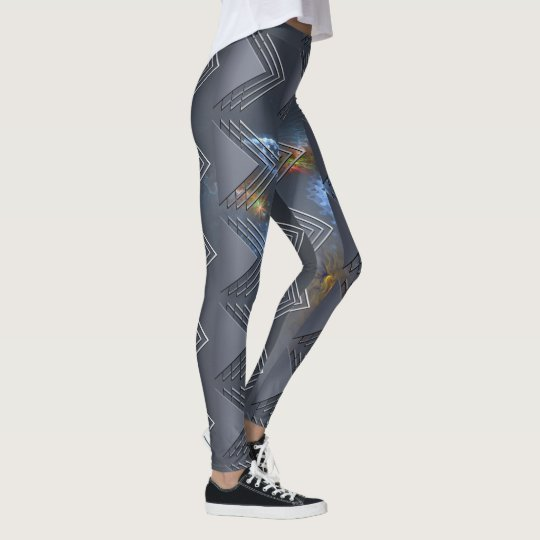 Thin Blue Line - OctoSpace Leggings