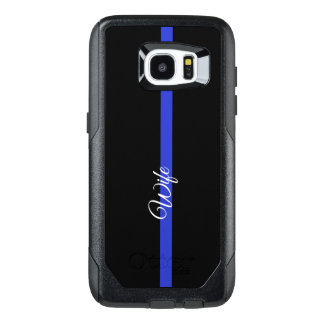 Thin Blue Line Otterbox Samsung Galaxy S7 Edge CAs