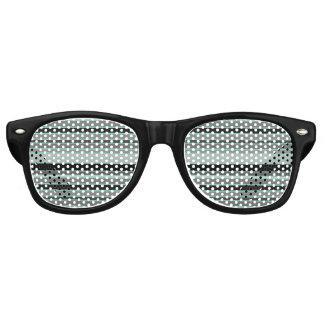 thin striped retro sunglasses