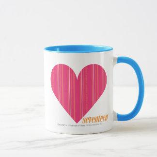 Thin Stripes Magenta 4 Mug