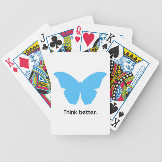 Think better with MorphOS Bicycle Playing Cards