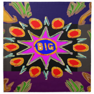 Think Big - Bigbang HighEnergy Art Cloth Napkins