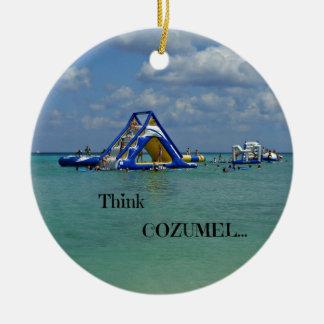Think Cozumel! Christmas Ornament
