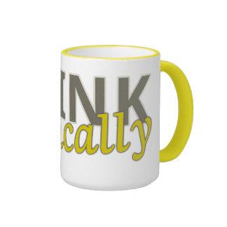 Think Critically Customizable Mugs