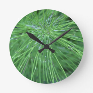 Think Green! by GRASSROOTSDESIGNS4U Wall Clock