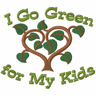 Think Green for Kids Embroidered Shirt