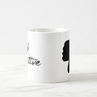 Think Negative Thumbs Down Mug
