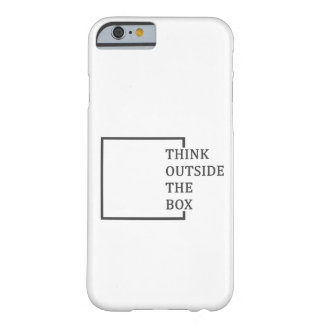 """""""Think Outside The Box"""" iPhone 6/6S cover"""