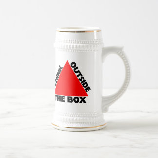 Think Outside The Box With Triangle Beer Stein