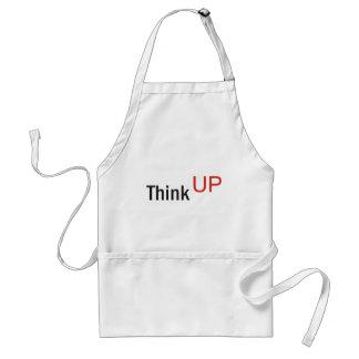 think up alexander technique slogan adult apron
