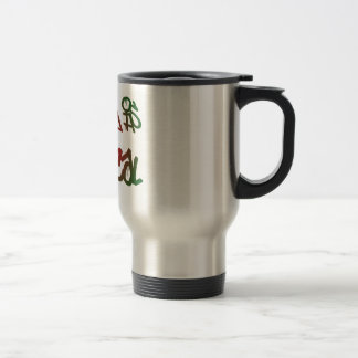 Thinking Is Critical Stainless Steel Travel Mug