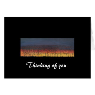 Thinking of you (Landscape) Card