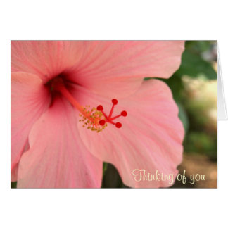 Thinking of you Notecard Note Card