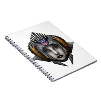 Thinosia Queen Of Armageddon ISO Spiral Notebook