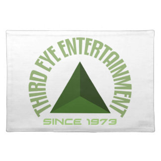 Third eye entertainment since 1973 placemat