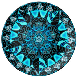 Third Eye Mandala Plate