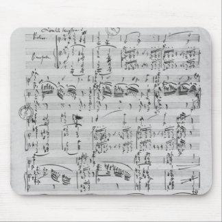 Third Sonata for piano and violin Mouse Pad