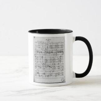 Third Sonata for piano and violin Mug