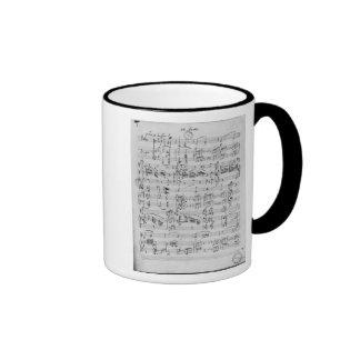 Third Sonata for piano and violin Ringer Mug