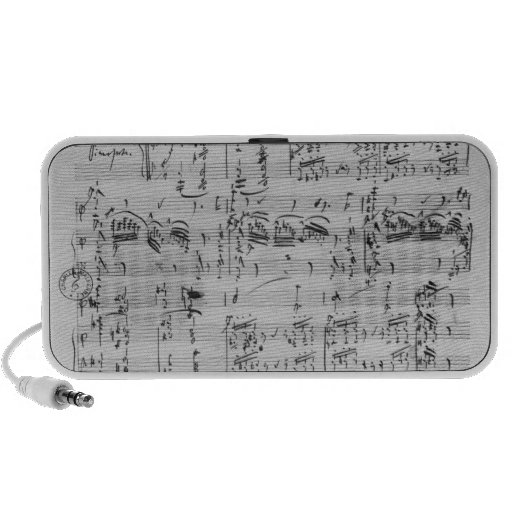 Third Sonata for piano and violin Laptop Speaker