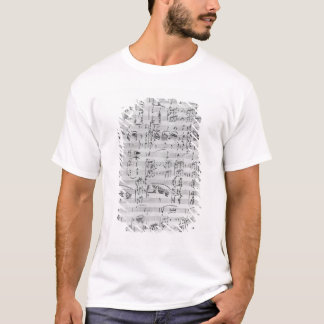 Third Sonata for piano and violin T-Shirt