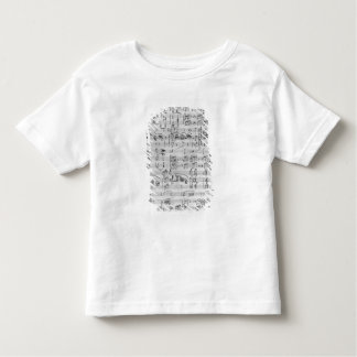 Third Sonata for piano and violin Toddler T-Shirt