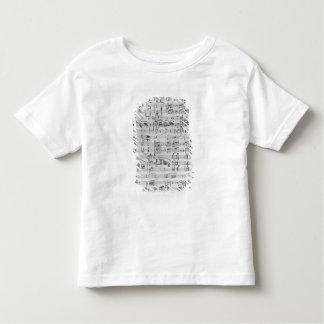Third Sonata for piano and violin Tshirts