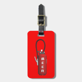 Thirst Quencher Beer Luggage Tag