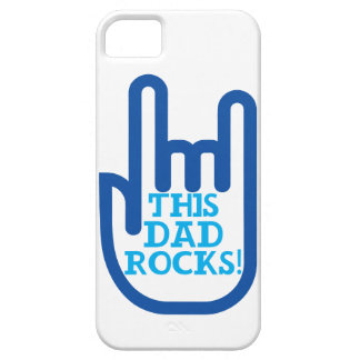 This Dad Rocks! iPhone 5 Cases