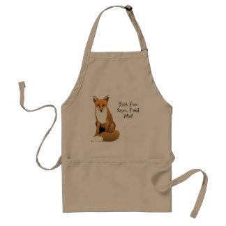 This Fox Says Feed Me Apron