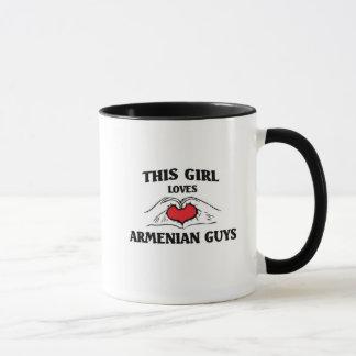 This girl loves Armenian Guys Mug